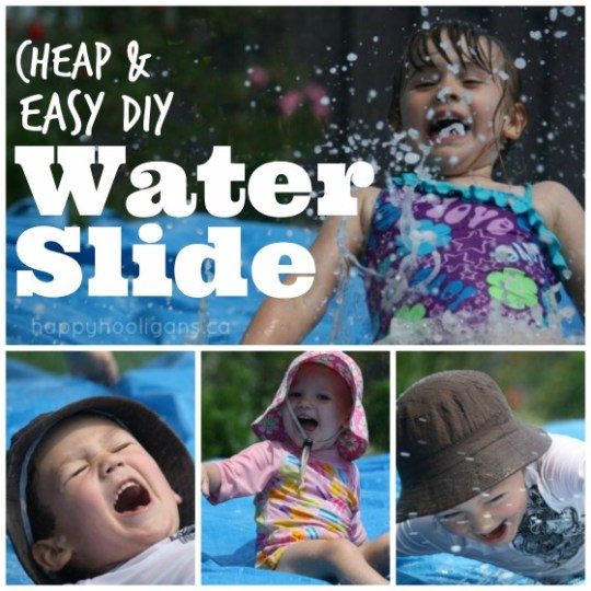 diy-waterslide