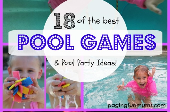 18 of the Best Swimming Pool Games