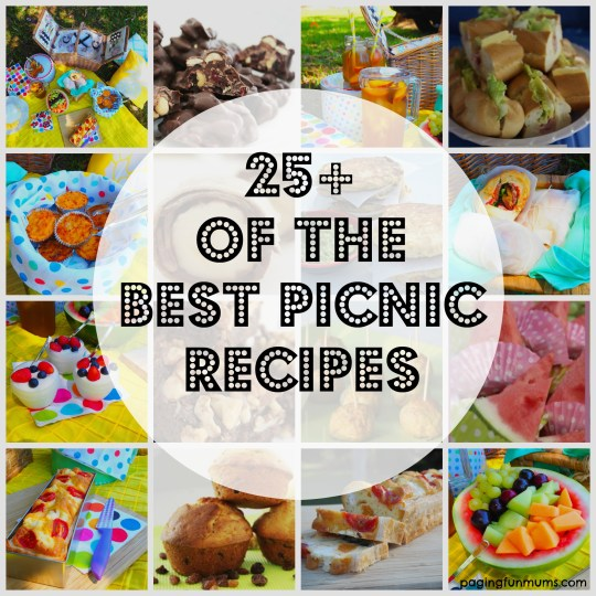 25+ Recipe Ideas for Picnics