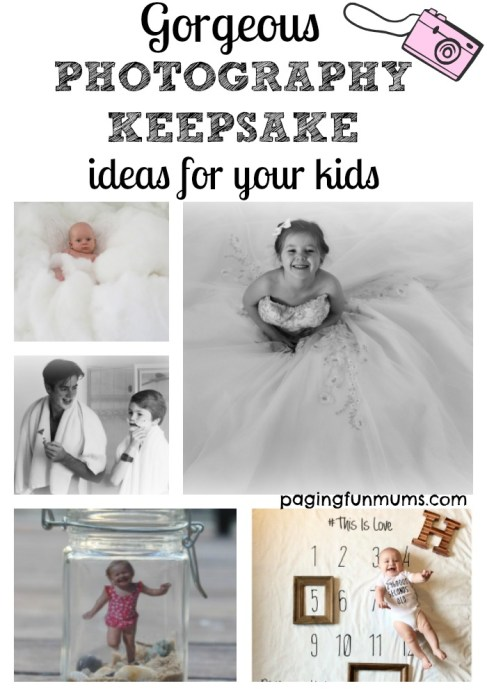 Gorgeous photography keepsake ideas for your kids