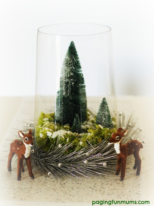 Whimsical DIY Christmas Centrepiece