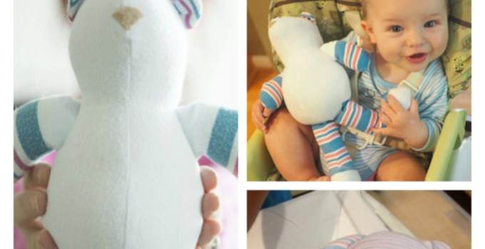 Have Your Baby's Hospital Blanket made into a plush BEAR
