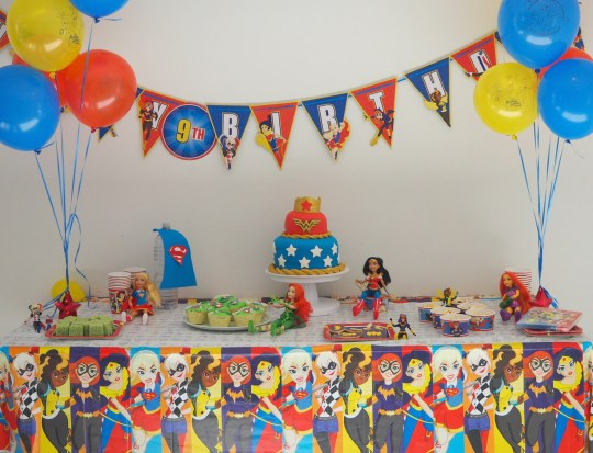 DC Super Hero Girls Party - Paging Fun Mums