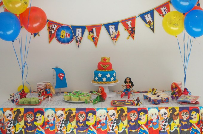 DC Super Hero Girls Party
