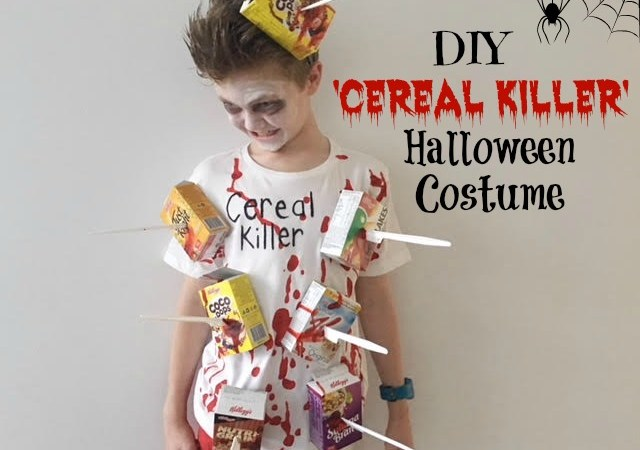 DIY 'Cereal Killer' Halloween Costume