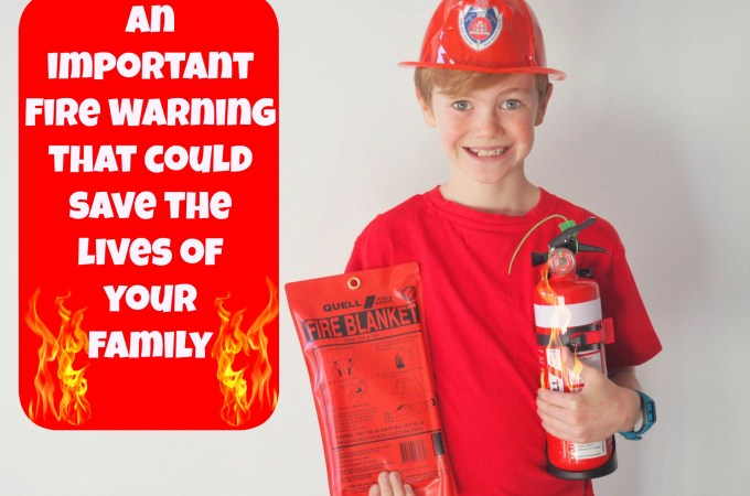 An important Fire Warning that could save the lives of your family