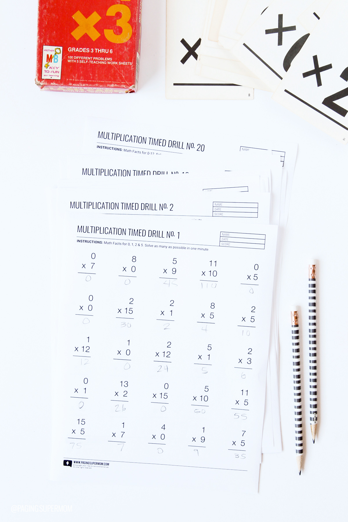 Worksheet Multiplication Speed Drills Grass Fedjp Worksheet Study Site