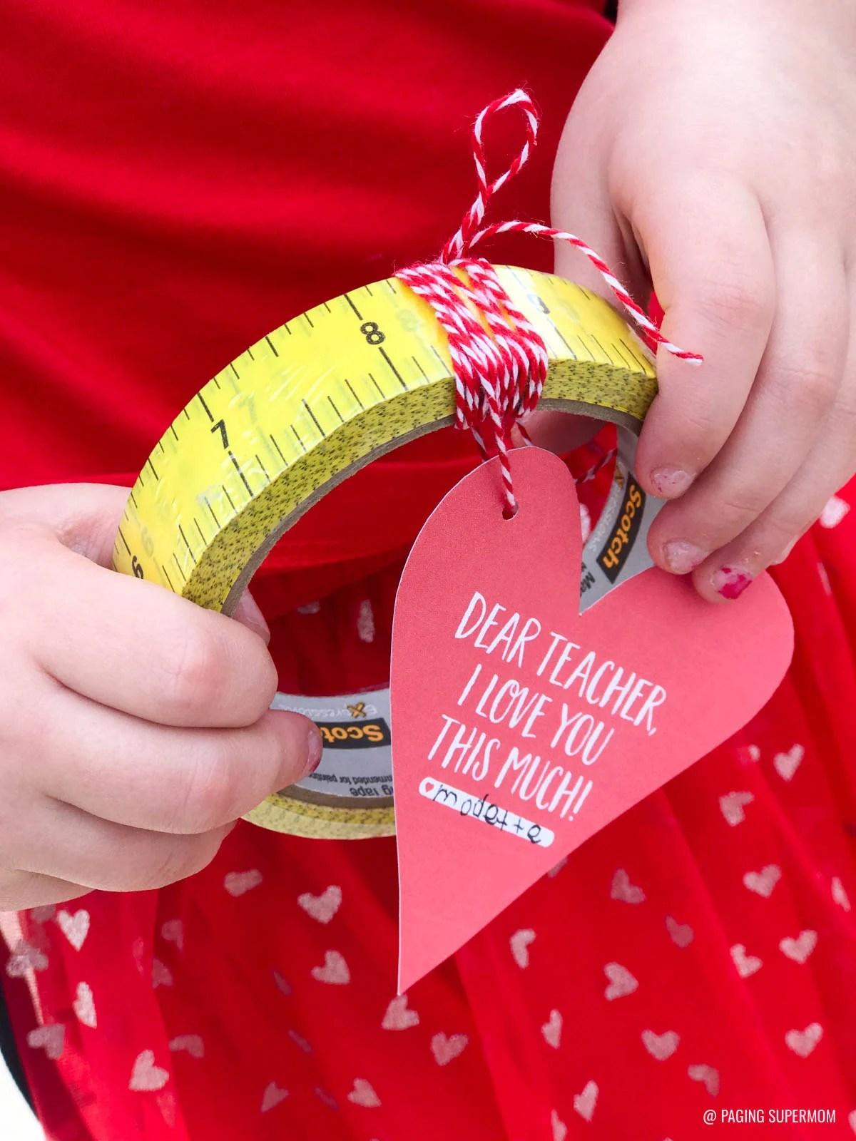 Teacher Valentines Free Printable For Easy Teachers