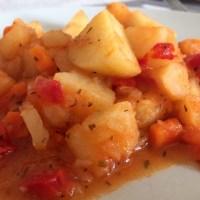 Mâncare de cartofi simplă și rapidă
