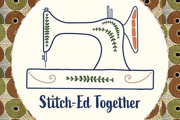 Stich-Ed Together Pagne Lifestyle