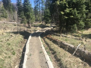 Improved Trail for erosion