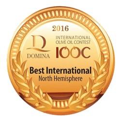 MEDALLA DE ORO DOMINA IOOC ITALIA 2.016