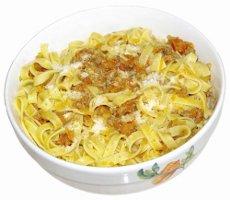 Pasta Bolognese & La Colombette Syrah
