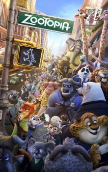 Free Download & Streaming Film Zootopia (2016) BluRay 480p, 720p, & 1080p Subtitle Indonesia Pahe Ganool Indo XXI LK21