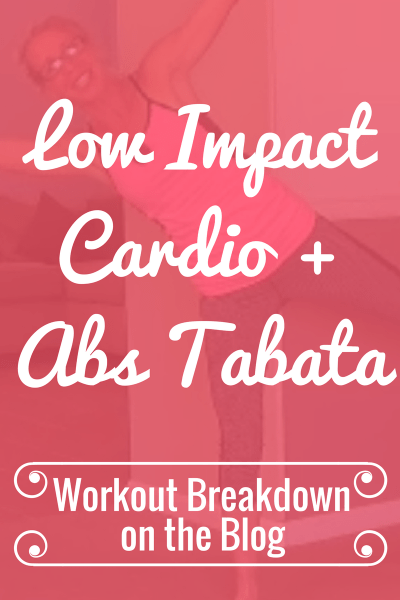 LOW IMPACT (Quiet) Cardio + Abs TABATA High Intensity Workout without Jumping Workout Breakdown - Pahla B Fitness