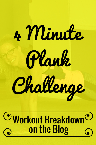 4 Minute PLANK CHALLENGE Intense Bodyweight CORE STRENGTH Workout Workout Breakdown - Pahla B Fitness
