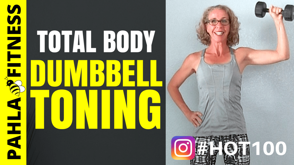 Total Body TONING, 15 Minute Workout | HOT 100 Challenge Day 3