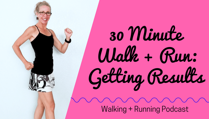 30 Minute Indoor WALK + RUN The Best Way to Get RESULTS in Your Walking + Running Workout Routine Full Length Home Workout from Pahla B Fitness Blog Featured Image