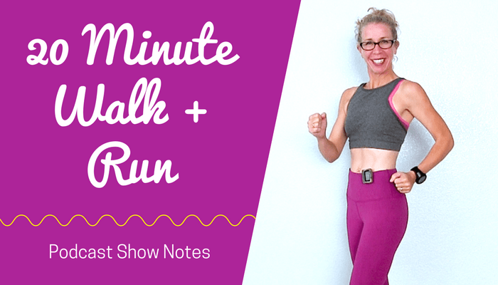 20 Minute Indoor WALKING + RUNNING with 30-Second Intervals - Getting in the Best Shape of Your Life Full Length Home Workout from Pahla B Fitness Blog Featured Image