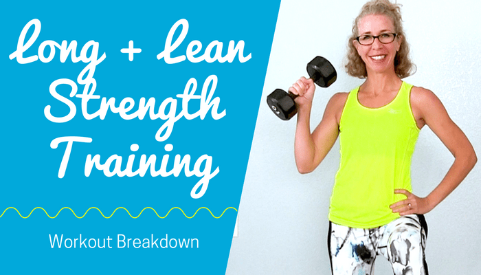 LONG + LEAN Ultimate 20 Minute Shape + Tone with DUMBBELLS - Strength Training Workout for Women Full Length Home Workout from Pahla B Fitness Blog Featured Image