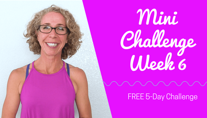 #PahlaBMiniChallenge Week six Full Length Home Workout from Pahla B Fitness Blog Featured Image