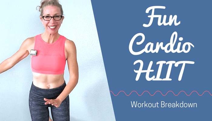 FUN Cardio HIIT _ Burn 200 Calories in 20 Minutes, All Standing Agility Workout - BLOG Featured Photo