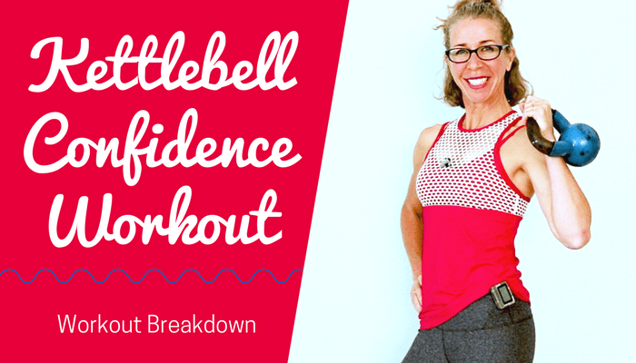 KETTLEBELL CONFIDENCE _ 20 Minute Total Body CARDIO + STRENGTH Body Shaping Workout without Jumping - BLOG Featured Photo