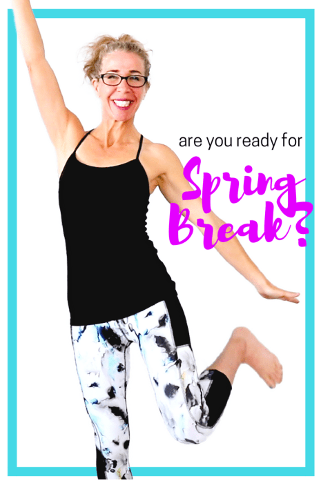 Spring Break Stackable Workouts from Pahla B Fitness - 10 minute mix and match workouts free on YouTube
