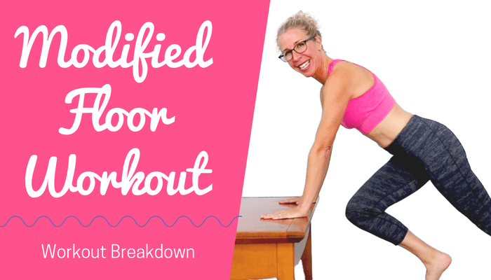 Floor Workout WITHOUT the FLOOR _ Modified TOTAL BODY Toning + Cardio HIIT Workout with Coffee Table - BLOG Featured Photo