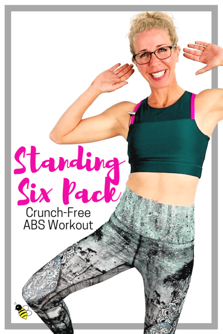 STANDING SIX PACK _ Stackable Crunch-Free Body-Sculpting Workout _ NO Floor Work, All STANDING FREE Home Workout on YouTube from Pahla B Fitness