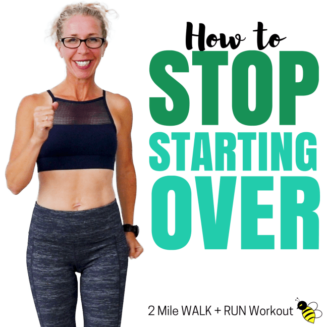 2 Mile INDOOR WALK + RUN  How to Stop STARTING OVER  30 Minute WALKING Workout Let's RUN Podcast with Pahla B Podcast Cover