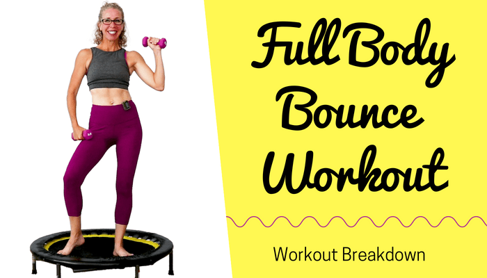 Full Body BOUNCE | FUN 10 Minute CARDIO TONING Rebounder Workout | STACKABLE Mini Trampoline Routine