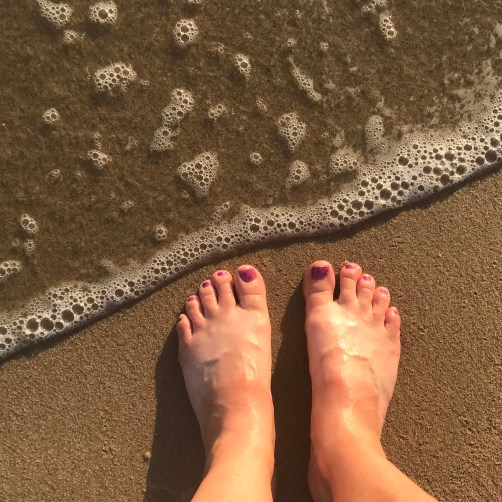 Toes in the Sand for Cutback Week