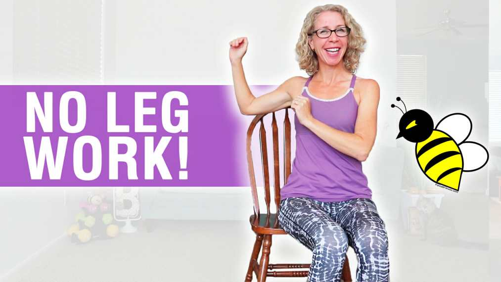 20 Minute SEATED All Arms Cardio HIIT