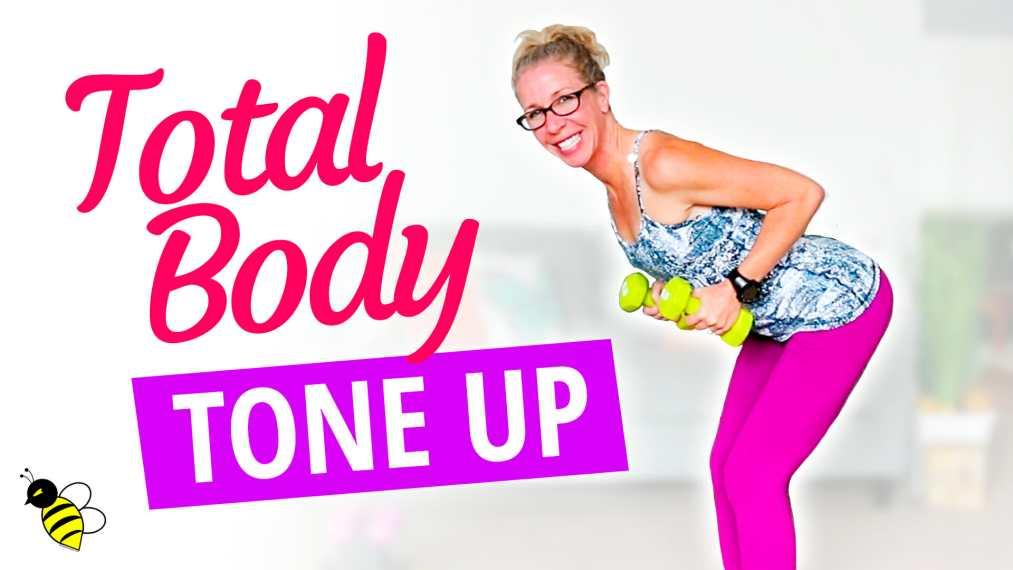No Repeat Total Body Tone Up