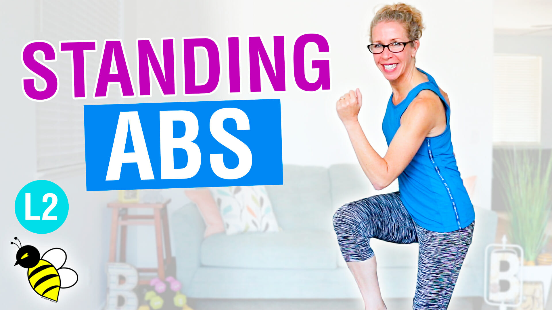 10 minute STANDING ABS stackable workout