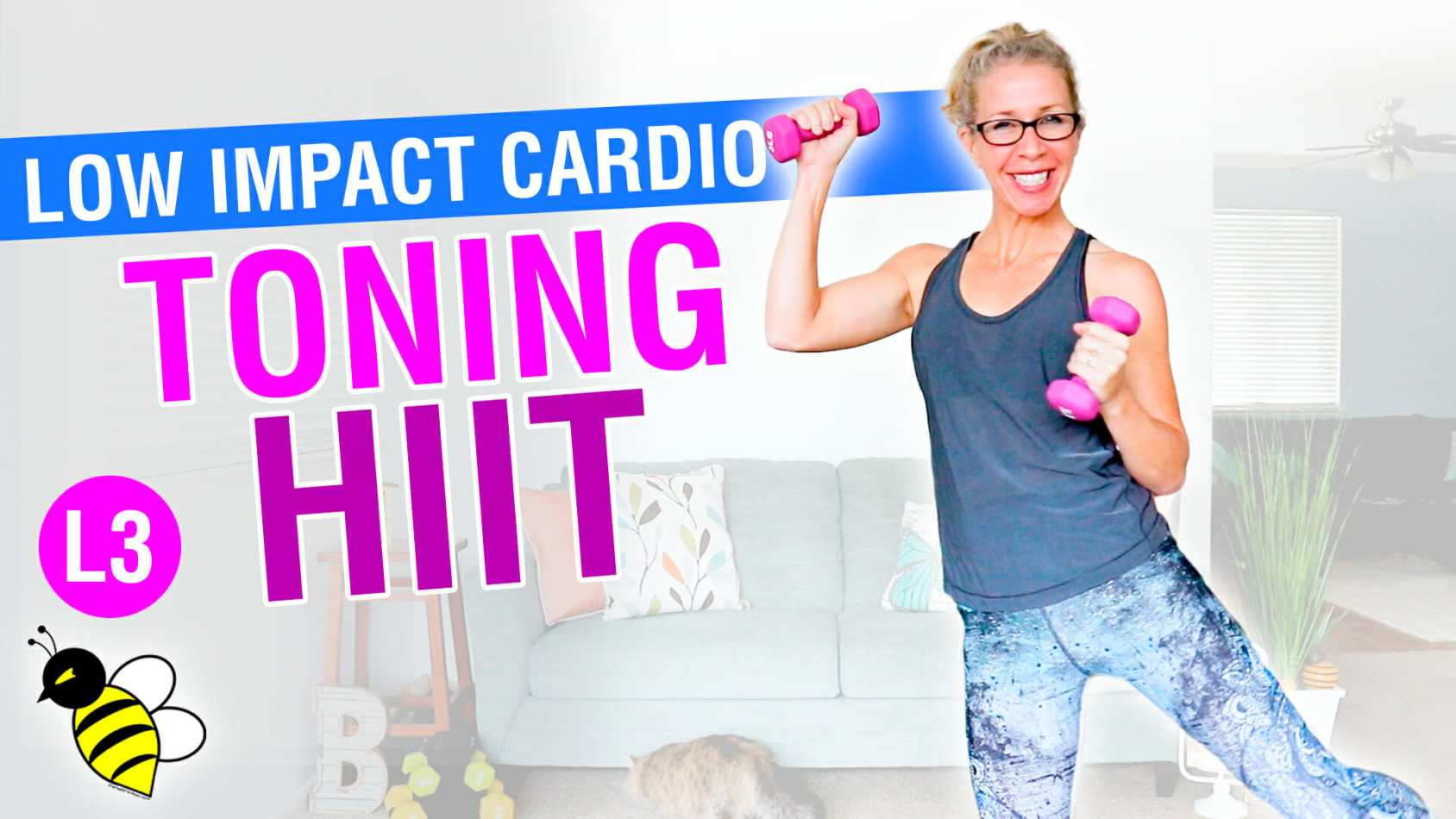 ALL standing NO jumping CARDIO TONING HIIT 10 minute stackable workout