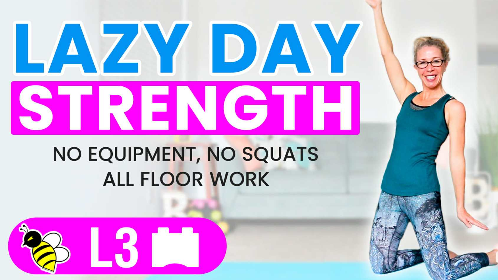Lazy Day STRENGTH 10 minute bodyweight workout