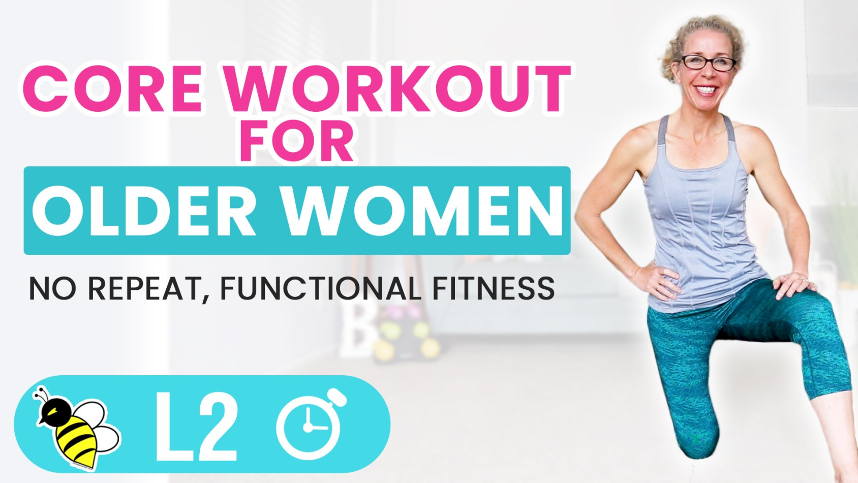 Empowering Core Workout for Older Women 5-Minute Friday