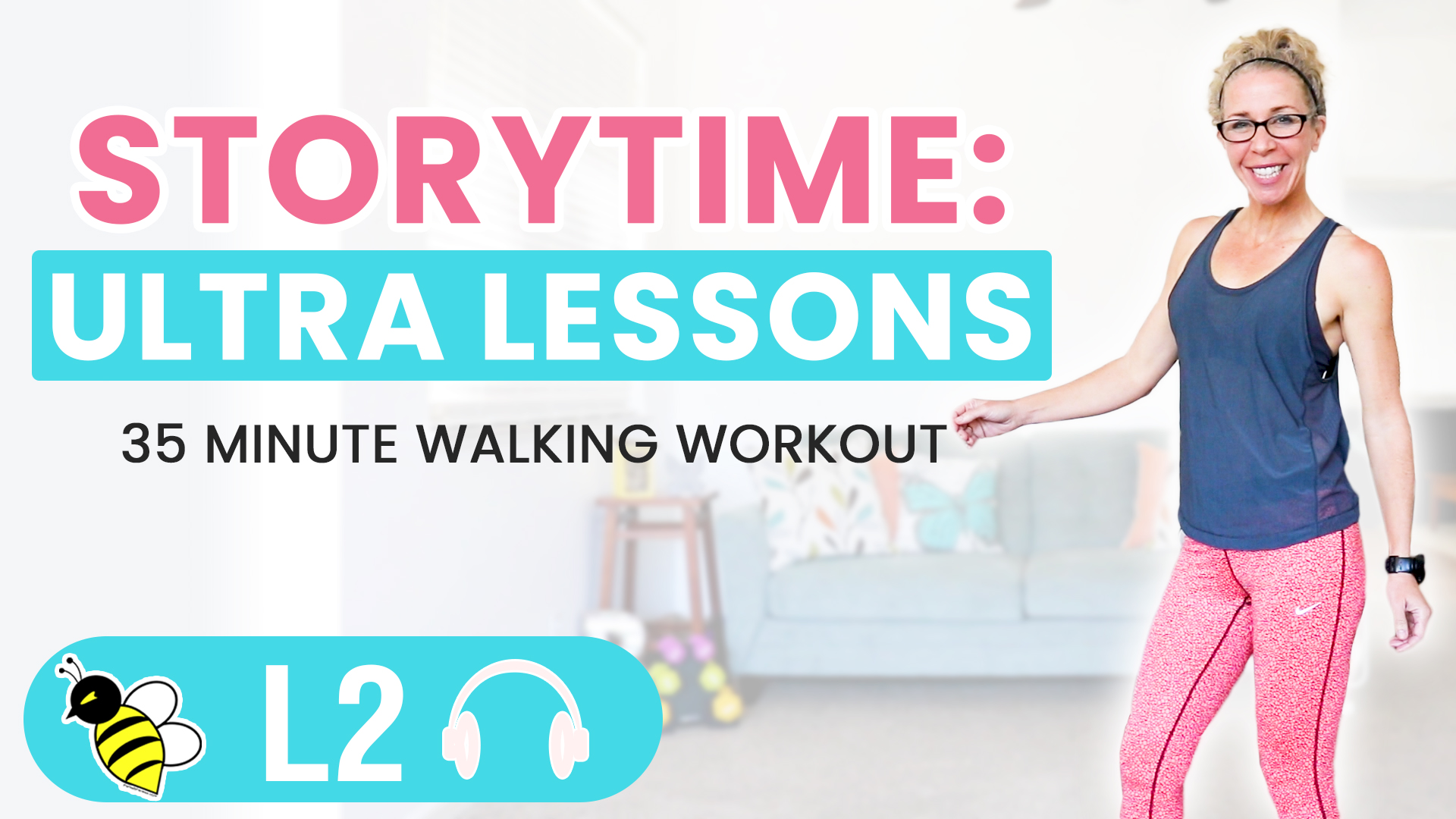 STORY TIME Lessons Learned from my ULTRA Challenge 35 minute WALKING workout