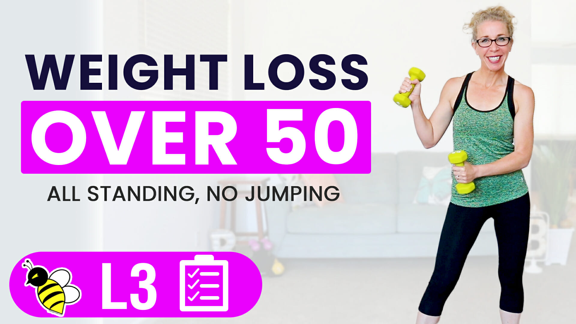 35 Minute WEIGHT LOSS Workout for Women Over 50, Total Body STRENGTH at Home