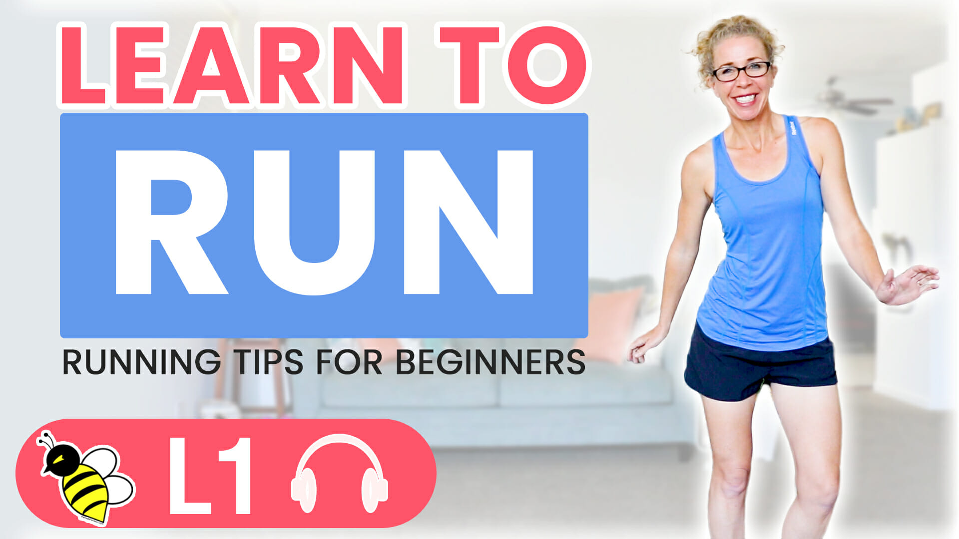 Learn to RUN with Pahla B - Running Tips for Beginners (1 Mile Workout)