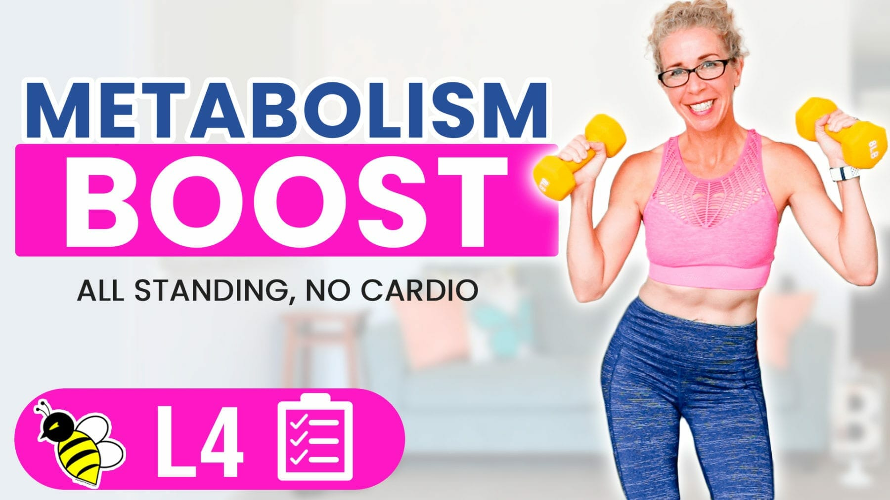 Metabolism Boost in Menopause 30 Minute STRENGTH TRAINING Workout for Women over 50