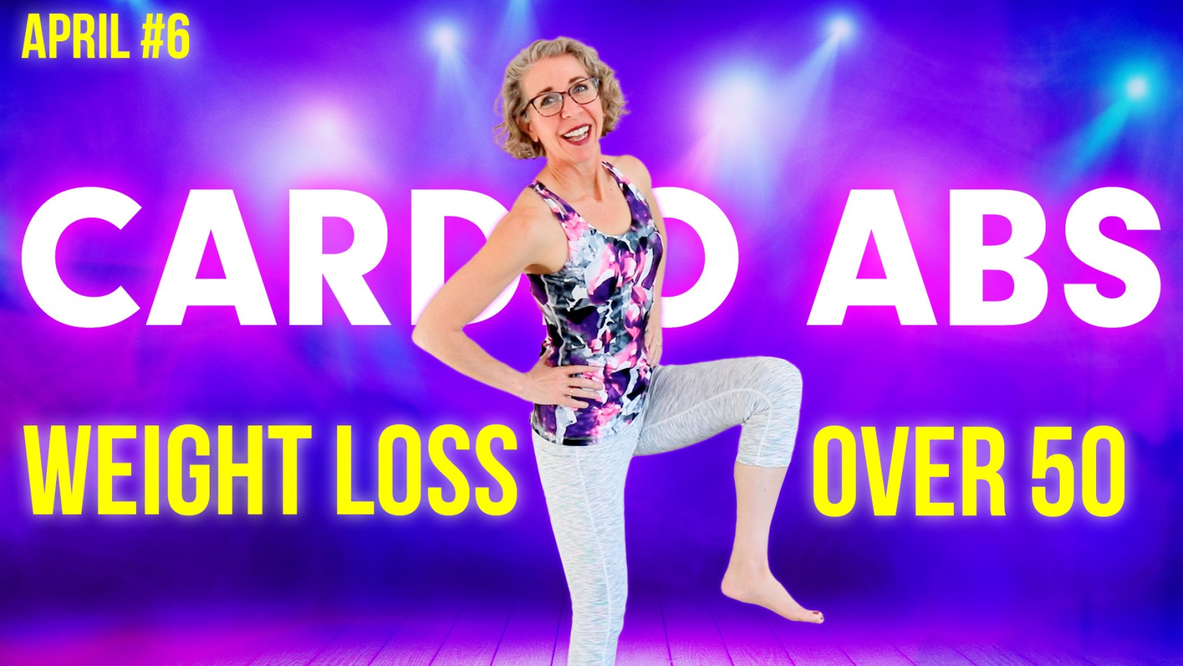 Cardio for Strong ABS! Slim Down with NO Crunches & NO Floor Work ???? April Day 6