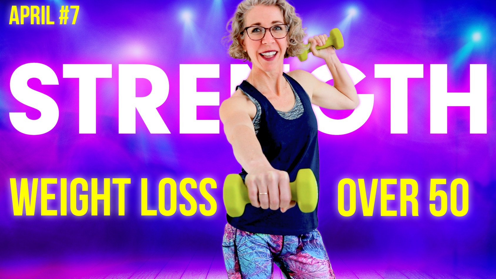 DUMBBELL Strength Workout! (Perfect for Osteoporosis) ???? April Day 7