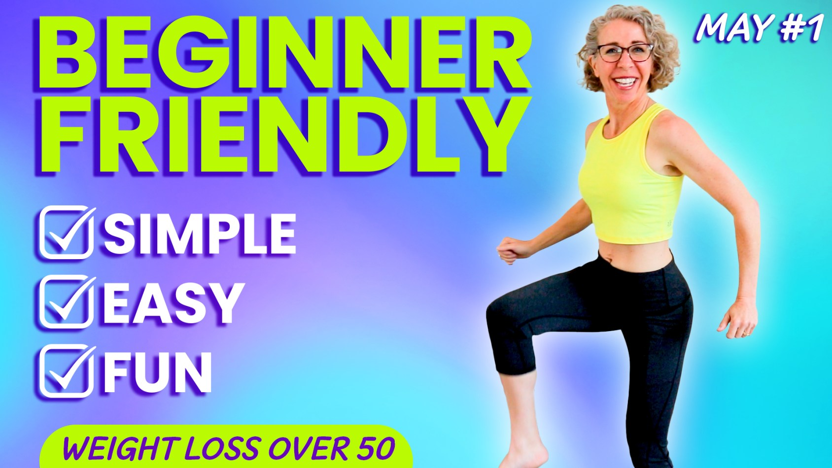 20 Minute Happy CARDIO Workout for WEIGHT LOSS ???? MAY 1