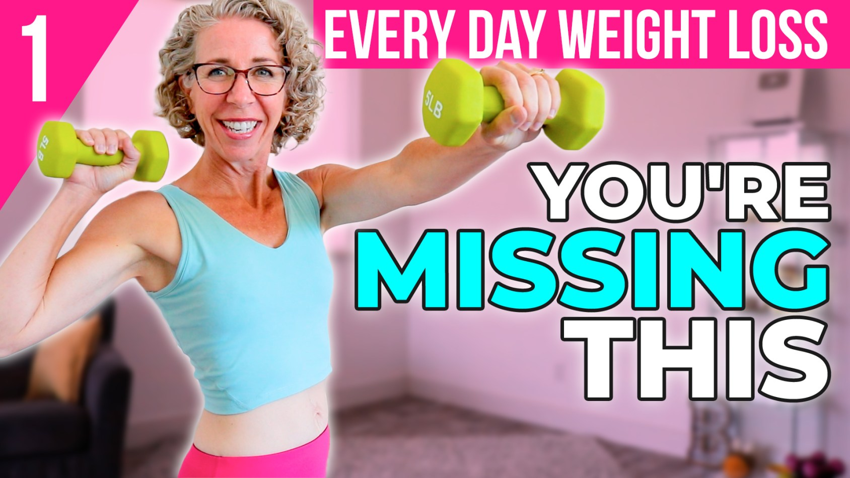 Essential WEIGHTS over 50 1️⃣ Lose Weight, Get Fit + Healthy