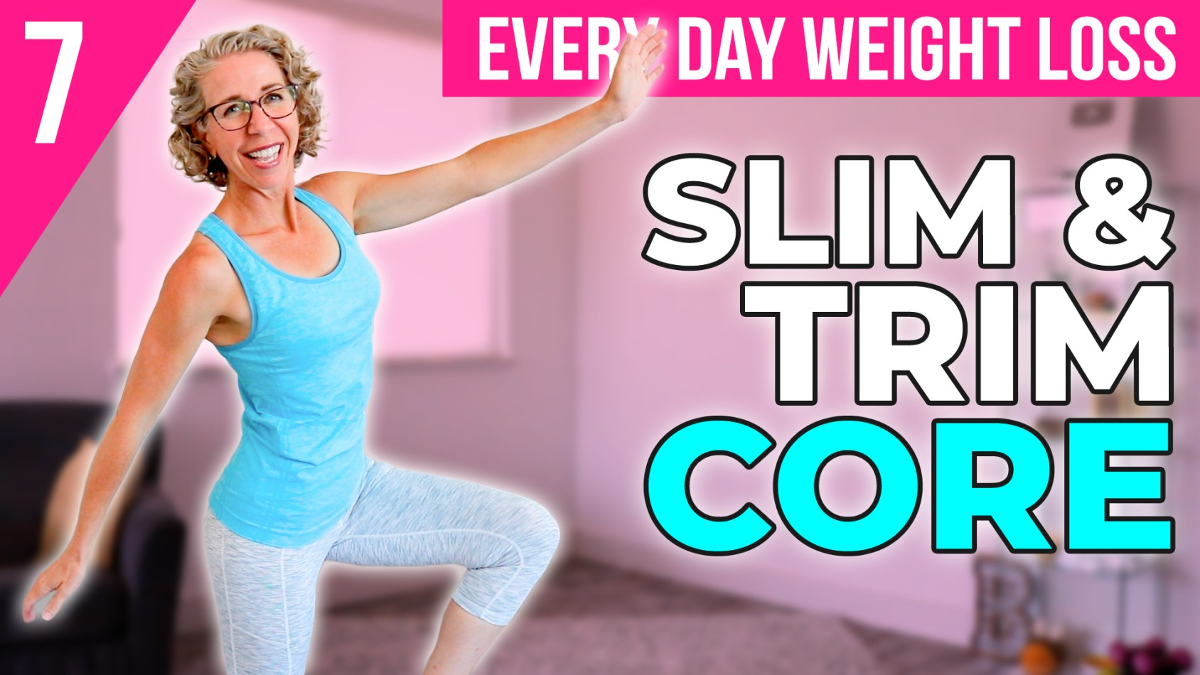 ???? FIRMING CORE ???? over 50 7️⃣ Vital BALANCE Practice for Women