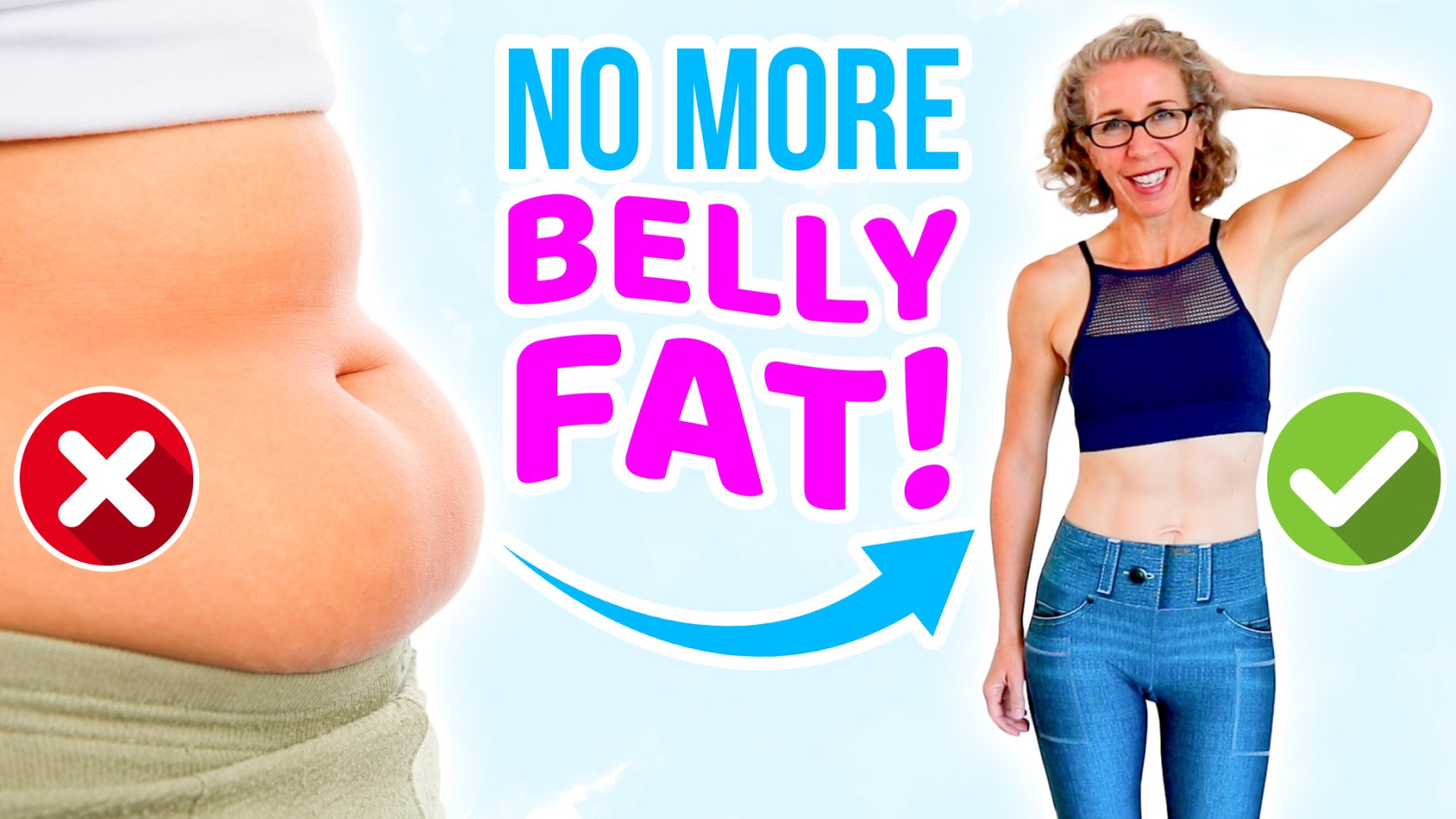 How to BANISH Menopausal BELLY FAT Forever!