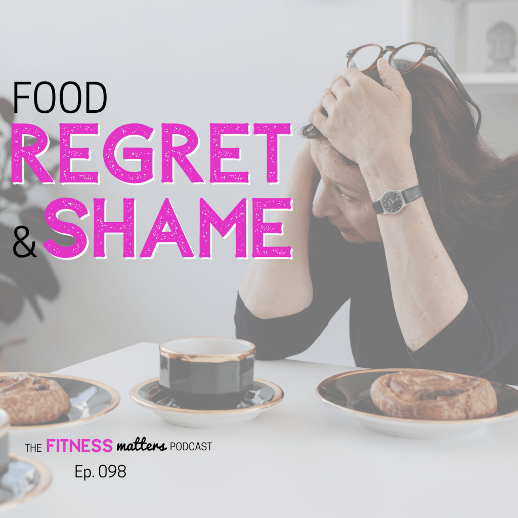 In today's episode of the Fitness Matters podcast, I'm digging⛏️ deep into thecommon feelings of REGRET and SHAME, what's really behind them, and how you can manage them effectively.